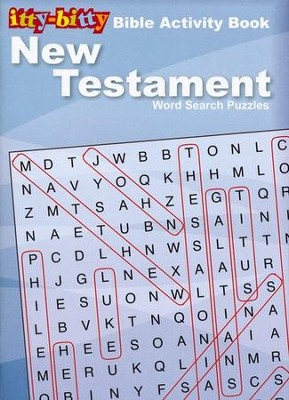 Itty-Bitty New Testament Word Search Puzzles--Ages 7 and up  -
