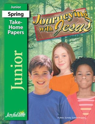 Journeying with Jesus Junior (Grades 5-6) Take-Home Papers  -
