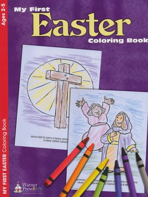 My First Easter--Coloring Book (ages 2 to 5)   -