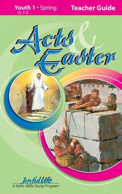 Acts & Easter Youth 1 (Grades 7-9) Teacher Guide   -
