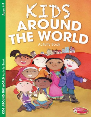 Kids Around the World Activity Book (ages 4-7)  -