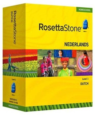 Rosetta Stone Dutch Level 1 with Audio Companion Homeschool Edition,  Version 3  -