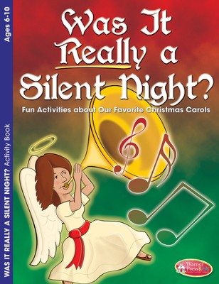 Was it Really a Silent Night? Activity Book (ages 6-10)  -