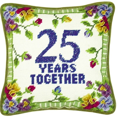 25 Years Together Pillow  -