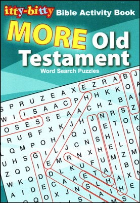 Itty-Bitty Book - Old Testament Word Search  -