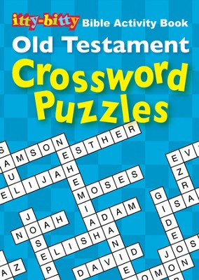 Itty-Bitty Book - Old Testament - Crossword  -