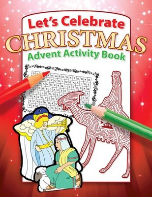 Let's Celebrate Christmas Activity Book  -