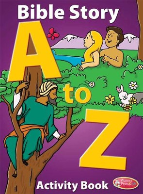 Bible Story A to Z Activity Book  -