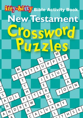New Testament Crosswords, itty-bitty Bible Activity Book  -