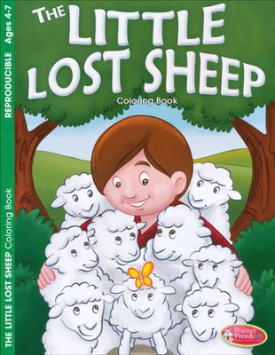 The Little Lost Sheep Coloring Book (ages 4-7)  -