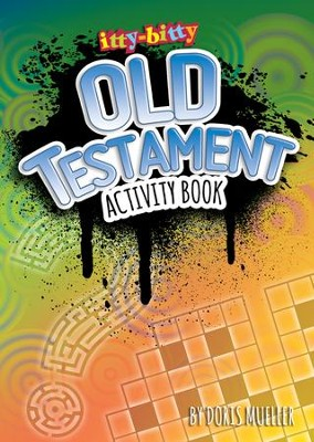 itty-bitty Old Testament Activity Book  -