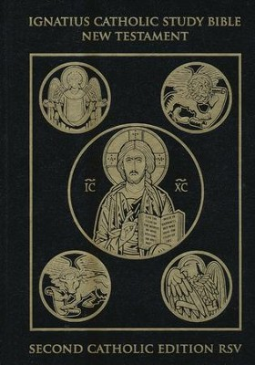 RSV Ignatius Catholic Study Bible New Testament 2nd Edition, Hardcover  -     By: Scott Hahn