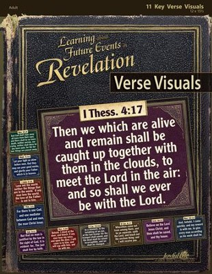 Revelation: Learning about Future Events Adult Bible Study Key Verse Visuals  -