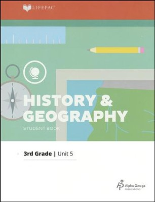 Grade 3 History & Geography Lifepac 5: Southern States   -