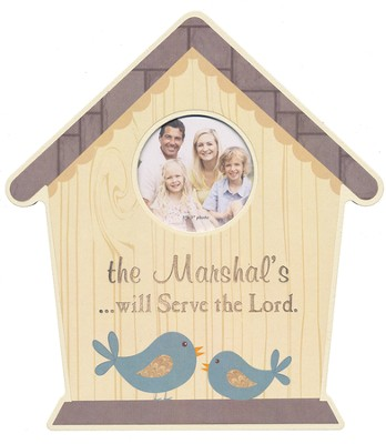 Personalized, Photo Frame, 3x3, Birdhouse    -