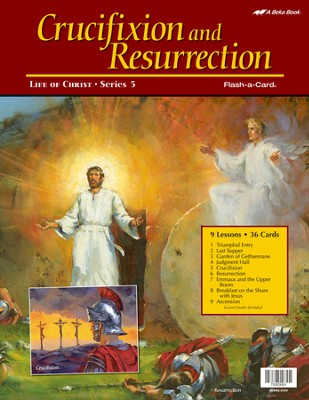 Crucifixion and Resurrection Flash-a-Card Set (Spring Quarter)  -