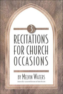 Recitations for Church Occasions 3   -