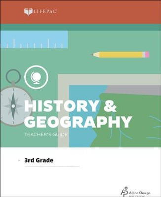 History & Geography LifePac Grade 3 Teacher's Guide 2012 Edition  -