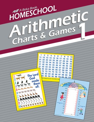Homeschool Arithmetic 1 Charts and Games   -
