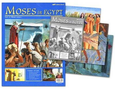 Moses in Egypt Flash-a-Card Set   -
