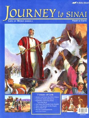 Journey to Sinai Flash-a-Card Set   -