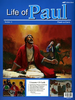 Life of Paul Series 1 Flash-A-Card Set   -