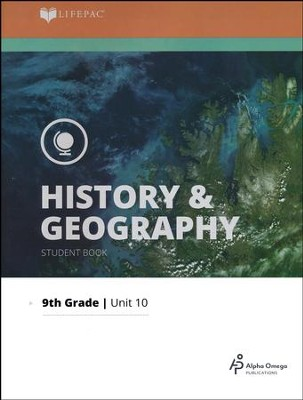Lifepac History & Geography Grade 9 Unit 10: Man in a Changing World  -