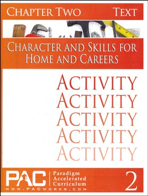 Industrial Skills Activities Booklet, Chapter 2   -