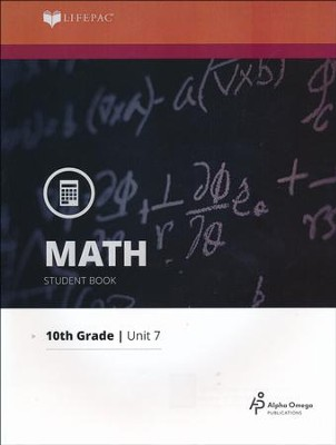 Lifepac Math Grade 10 Unit 7: Construction and Locus   -