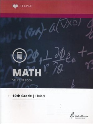Lifepac Math Grade 10 Unit 9: Coordinate Geometry   -