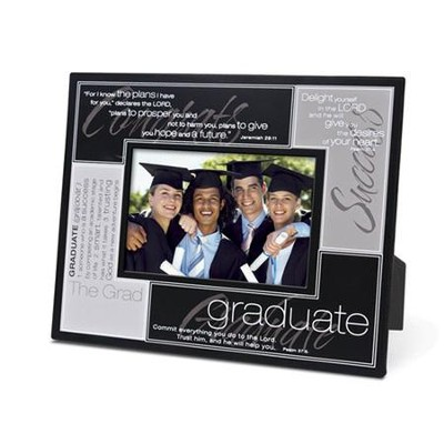 Definition of a Graduate--Metal Photo Frame   -