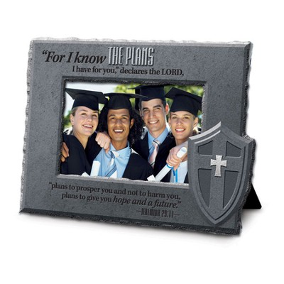 Know Plans, He is Your Shield Photo Frame  -