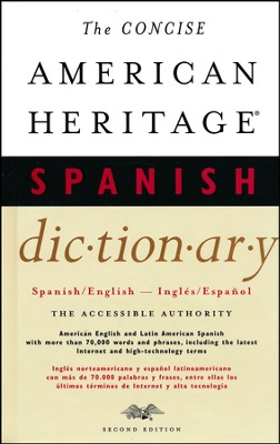 American Heritage Concise Spanish/English Dictionary 2nd Edition  -     By: American Heritage Staff