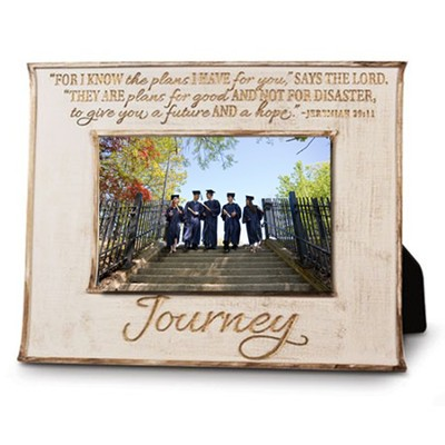 Journey, For I Know the Plans Photo Frame  -