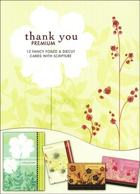 Thankful Hearts Thank You Cards  -