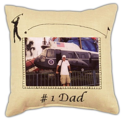 #1 Dad Pillow  -