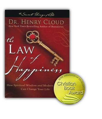 The Law of Happiness: Discovering the Path to an  Abundant Life - Slightly Imperfect  -     By: Dr. Henry Cloud