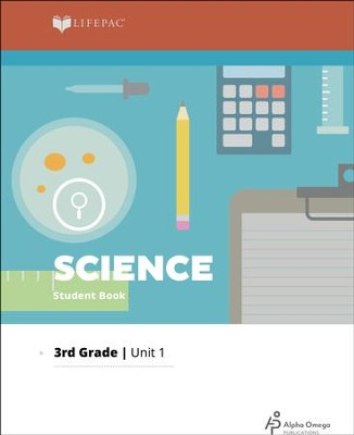 Lifepac Science Grade 3 Unit 1: You Grow and Change   -