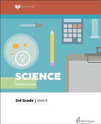 Lifepac Science, Grade 3 Unit 4: You Are What You Eat   -