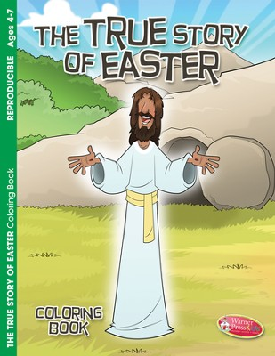 The True Story of Easter--Coloring Book (ages 4 to 7)  -