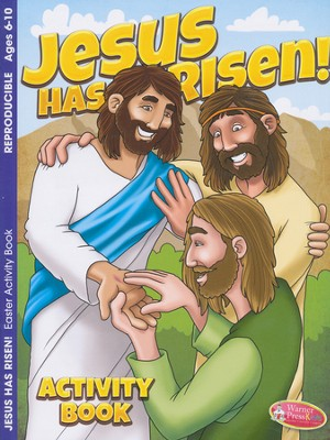Jesus Has Risen--Activity Book (ages 6 to 10)  -