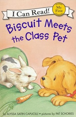 Biscuit Meets the Class Pet  -     By: Alyssa Satin Capucilli, Pat Schories