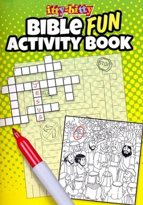 Fun Bible Activities itty-bitty Bible Activity Book  -
