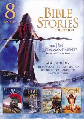 8-Movie Bible Stories Collection   -
