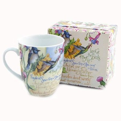 Look at the Birds--Mug and Matching Gift Box   -