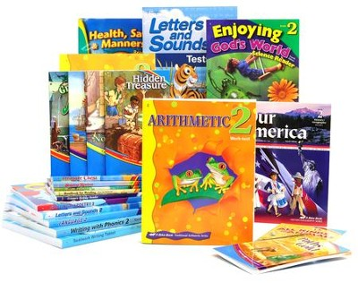Grade 2 Homeschool Child Full-Grade Kit  -