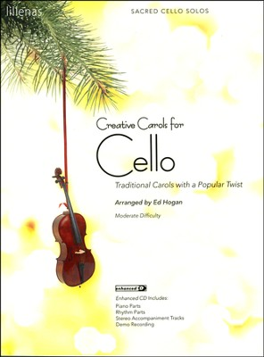 Creative Carols for Cello (Book w/CD-ROM)   -
