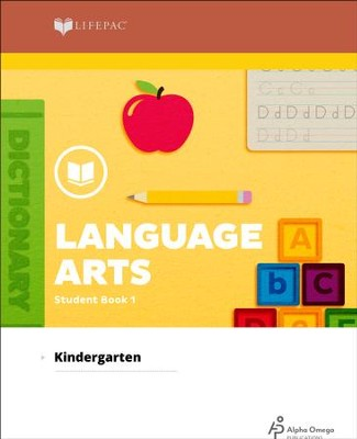Lifepac Language Arts, Kindergarten, Student Book 1   -     By: Alpha Omega
