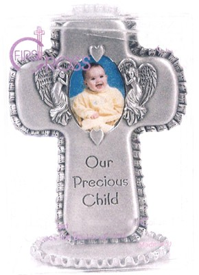 Our Precious Child Photo Cross  -