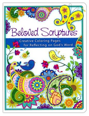 Beloved Scriptures Coloring Book for Adults   -